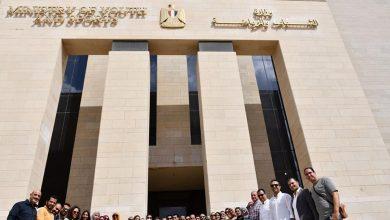 صورة وزير الشباب والرياضة يتفقد مقر الوزارة بالعاصمة الادارية الجديدة