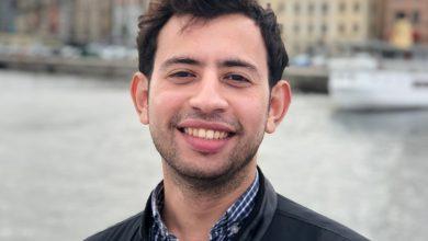 """صورة أحمد جابر الشريك المؤسس ل""""بوسطة"""" ضمن القائمة النهائية لفوربس الشرق الأوسط 30UNDER30"""