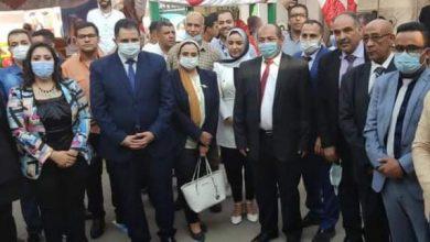صورة تحت رعاية محافظ القاهرة مشاركة فاعلة للمؤسسة الدولية للبحوث في ملتقى التدريب والتوظيف