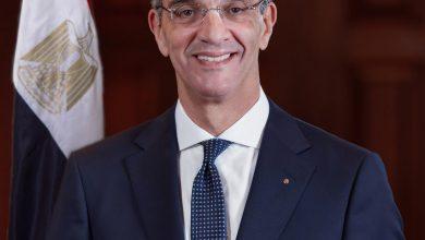 صورة وزير الاتصالات :الأمن السيبرانى أحد أهم ركائز الاقتصاد الرقمى فى العالم