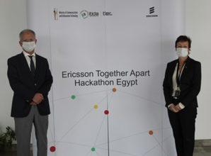 """صورة إريكسون مصر تطلق فاعليات """"هاكاثون معاً عن بعد"""" لدعم الإبتكار وفق رؤية مصر2030"""