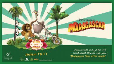 """صورة العرض العالمي """"مدغشقر"""" في """"كايرو فستيفال سيتي مول"""""""