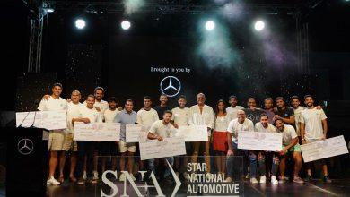 """صورة ستار الوطنية للسيارات """"SNA"""" تٌهدي سيارة مرسيدس-بنز للفائزين ببطولة """"ستار بادل"""""""
