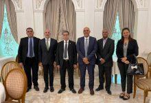 صورة وزير النفط و الغاز بحكومة الوحدة الوطنية الليبية يجتمع مع رئيس مجلس إدارة شركة طاقة عربية