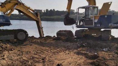صورة ازالة ٥٦٠٠ حالة تعدى خلال الحملات الموسعة لإزالة التعديات علي نهر النيل والمجارى المائية