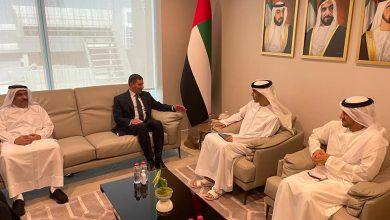 """صورة رئيس """"الاستثمار"""" يبحث مع وزير التجارة الخارجية الإماراتى تعزيز التعاون الاستثماري بين البلدين"""