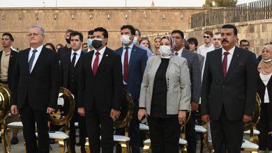 صورة وزير الشباب والرياضة والسفير الروسي يختتمان منتدى الشباب المصري الروسي في نسخته الثانية