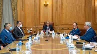 صورة وزير للإنتاج الحربى يبحث مع سفيرة كولومبيا تعزيز العلاقات الإقتصادية والإستثمارية