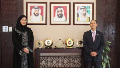 صورة رئيس هيئة الرقابة المالية يلتقي بالدكتورة مريم السويدى الرئيس التنفيذي لهيئة الأوراق المالية والسلع بدولة الإمارات