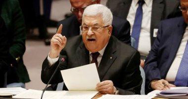 صورة أبو مازن يؤكد ضرورة تثبيت التهدئة الشاملة في الأراضي الفلسطينية