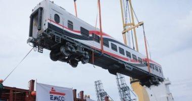 صورة السكة الحديد تستقبل دفعة عربات روسية جديدة عبر ميناء الإسكندرية