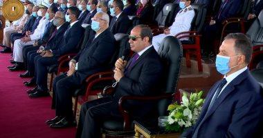 صورة الرئيس السيسي لخريجى الشرطة: كونوا قدوة فى التعامل مع الأمن وسلامة المواطن