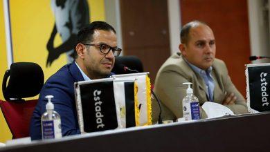 صورة مجلس إدارة استادات يجتمع بمسؤولى النشاط الرياضى بالشركة لمناقشة ما تم إنجازه في 4 شهور