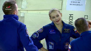 """صورة في خطوة فريدة.. ممثلة روسية تتجه إلى الفضاء لتصوير أول فيلم """"بين النجوم"""" مع ناسا"""
