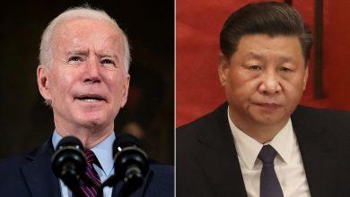 """صورة بايدن وشي يتفقان على عقد اجتماع افتراضي وسط توترات بين بلديهما.. ودعوة أمريكية إلى """"منافسة مسؤولة"""""""