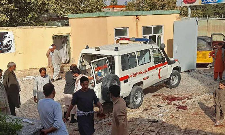 مقتل-وإصابة-100-على-الأقل-في-تفجير-انتحاري-استهدف-مسجدًا-للشيعة-بأفغانستان