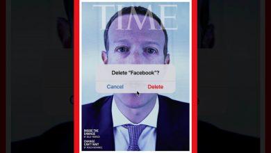 """صورة """"حذف فيسبوك؟"""".. غلاف مجلة """"تايم"""" يلخص واحدًا من أسوأ أوقات زوكربيرغ"""