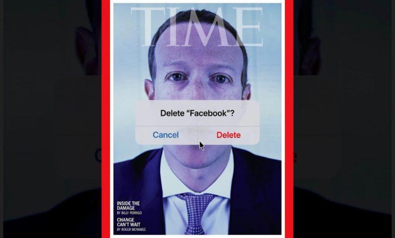 """""""حذف-فيسبوك؟"""".-غلاف-مجلة-""""تايم""""-يلخص-واحدًا-من-أسوأ-أوقات-زوكربيرغ"""