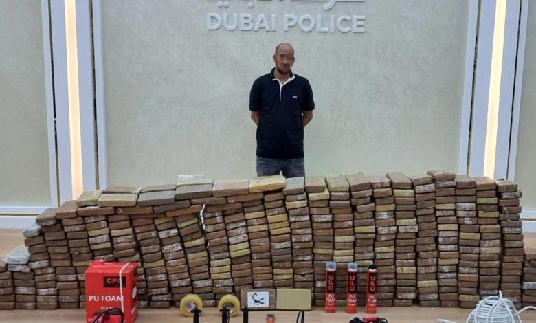 """شرطة-دبي-تضبط-500-كيلوغرامات-من-مخدر-الكوكايين-في-""""أكبر-قضية-مخدرات-بالمنطقة"""""""