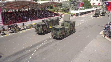 صورة وسط تصاعد التوترات مع الصين.. تايوان تستعرض أسلحة محلية الصنع خلال مراسم اليوم الوطني