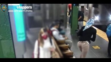 صورة امرأة تدفع أخرى أمام قطار عمدًا وفجأةً.. شاهد ما حدث