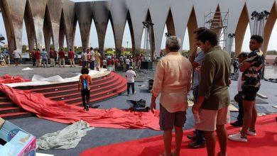"""صورة حريق ضخم في مسرح """"بلازا"""".. هل سيقام مهرجان """"الجونة"""" السينمائي في موعده؟"""