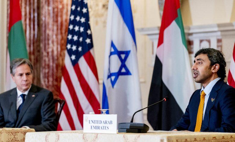 وزير-خارجية-الإمارات:-لن-نقبل-بحزب-الله-جديد-على-حدود-السعودية.-وأزور-إسرائيل-قريبًا