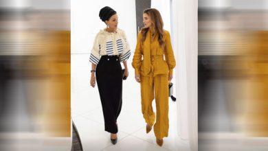 صورة بالصور.. والدة أمير قطر الشيخة موزا تستقبل الملكة رانيا بالدوحة