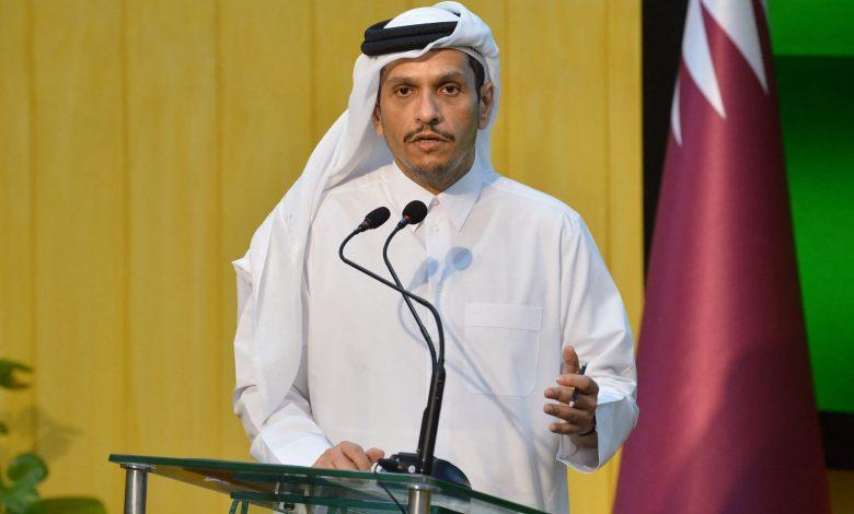 """وزير-خارجية-قطر-يعلق-على-""""الزخم-الإيجابي""""-بين-السعودية-وإيران.-ويوضح-علاقة-الدوحة-بطالبان"""