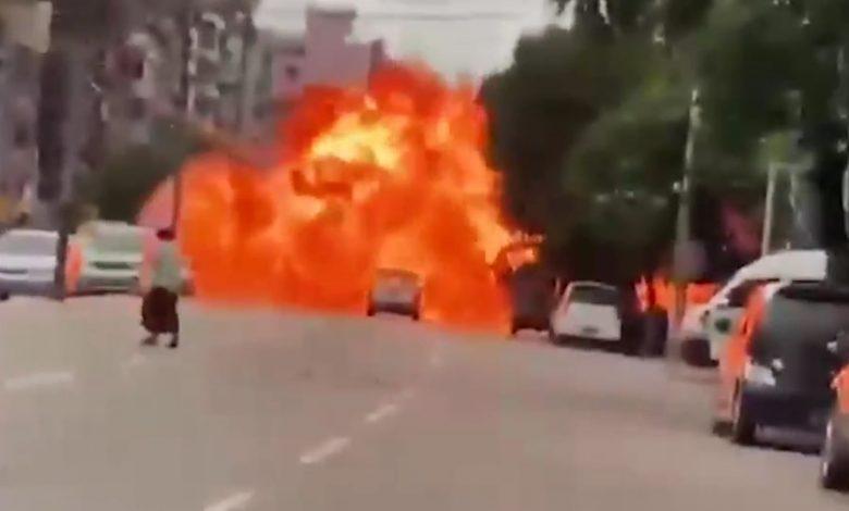 التمرد-الحضري-في-ميانمار.-أحدث-المستجدات-مع-استمرار-زرع-متفجرات-بالطرق
