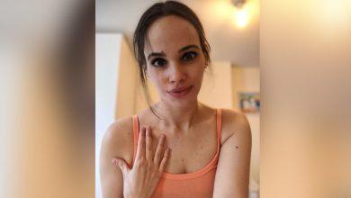 """صورة نور عمرو دياب تستعرض شقتها """"الفارغة"""".. وتكشف إصابتها بنفس مرض أختها"""