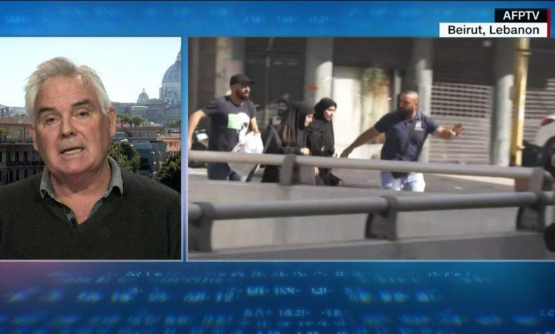 بيروت-تشهد-أسوأ-أعمال-عنف-منذ-سنوات.-ومراسل-cnn:-المشاهد-مشابهة-للحرب-الأهلية