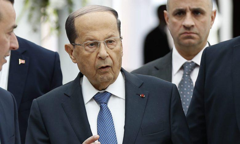 رئيس-لبنان:-ليس-مقبولا-عودة-السلاح.-واشتباكات-بيروت-أعادتنا-لصفحة-سوداء-طويناها