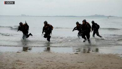 صورة وسط التوترات مع تايوان.. حكومة الصين تنشر فيديو دعائي لتدريب عسكري على الغزو