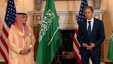 صورة بلينكن: ملتزمون بالدفاع عن السعودية.. وفيصل بن فرحان: شراكتنا قوية