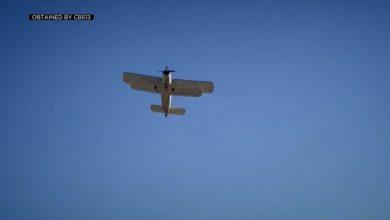 صورة كاميرا ترصد لحظة سقوط طائرة وانفجارها بعد لحظات من إقلاعها