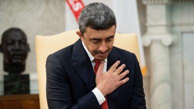 صورة وزير الخارجية الإماراتي يلتقي مستشار الأمن القومي الأمريكي في واشنطن