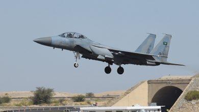 صورة التحالف باليمن: مقتل 160 حوثيًا في 32 غارة جوية خلال 24 ساعة