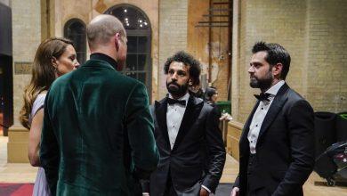 صورة فيديو متداول.. محمد صلاح بحديث ودي مع الأمير ويليام وزوجته