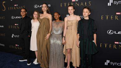 صورة أنجلينا جولي في ظهور نادر مع أبنائها خلال عرض Eternals.. ما الذي قصدته؟