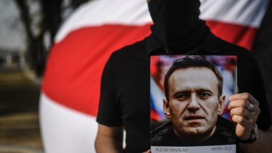 صورة البرلمان الأوروبي يمنح جائزة ساخاروف للمعارض الروسي أليكسي نافالني