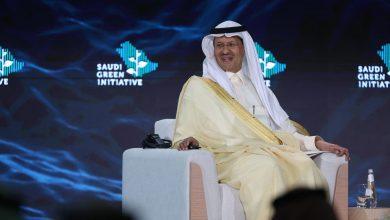 صورة مع إعلان إنتاج الهيدروجين.. وزير الطاقة السعودي: السعودية لن تزول