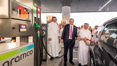 صورة ارامكو وتوتال إنيرجيز تدشنان اولى محطات الوقود في السعودية