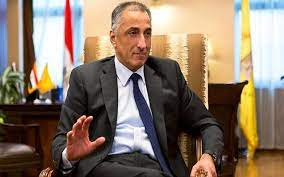 صورة طارق عامر : تم وضع استراتيجية متكاملة للأمن السيبراني تواكب التطورات المتلاحقة في التكنولوجيا الرقمية