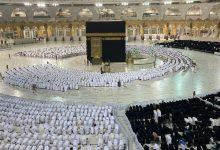 صورة بعد عامين من الإجراءات الاحترازية صفوف المصلين تكتمل بالمسجد الحرام